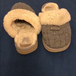Well loved UGG slippers